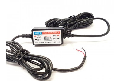Dashcam continue voeding kabel 12 / 24 volt