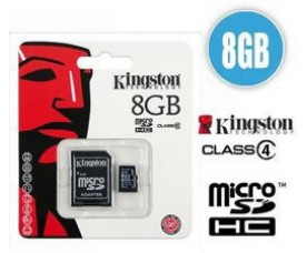 Kingston Geheugenkaart 8 GB