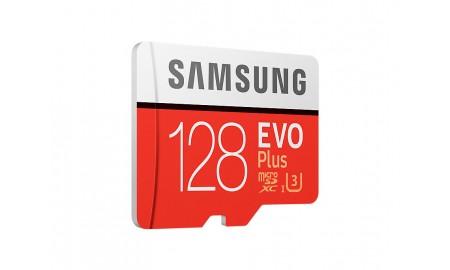 Geheugenkaart 128 GB klasse 10 met Adapter