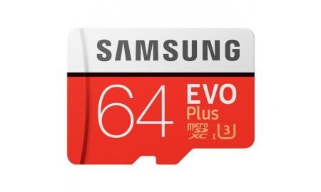 Geheugenkaart 64 GB klasse 10 en met  Adapter