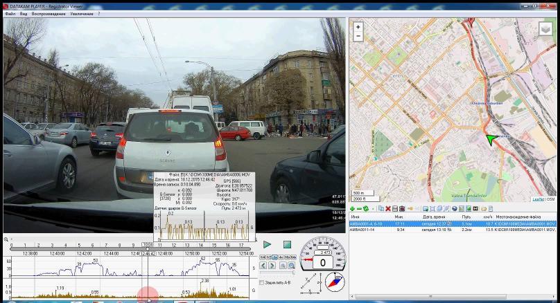 Dashcam player 123carcam