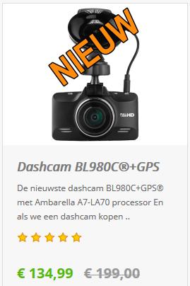 Dashcam BL980C+GPS