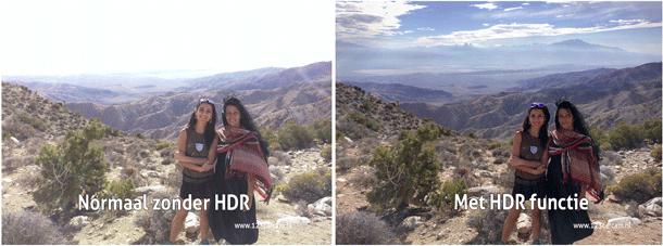 Dashcam-HDR-functie
