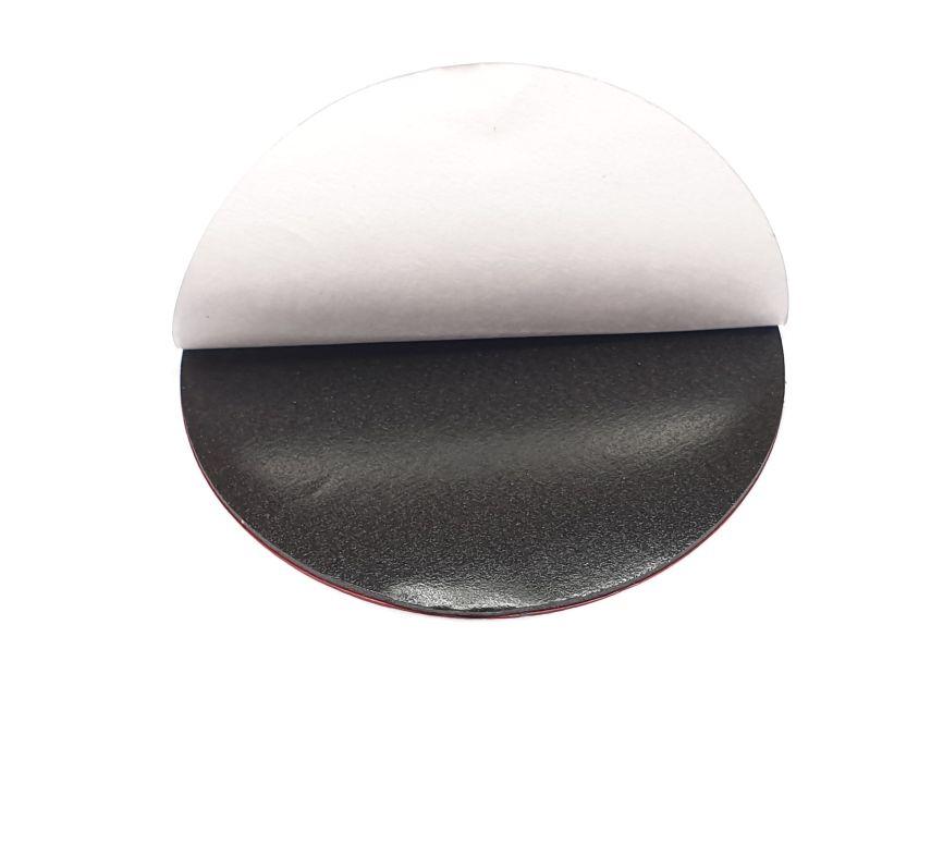 3M sticker zwart 6 cm
