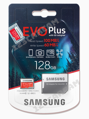 Samsung-EVO-plus-128GB MB-MC128HA/EU