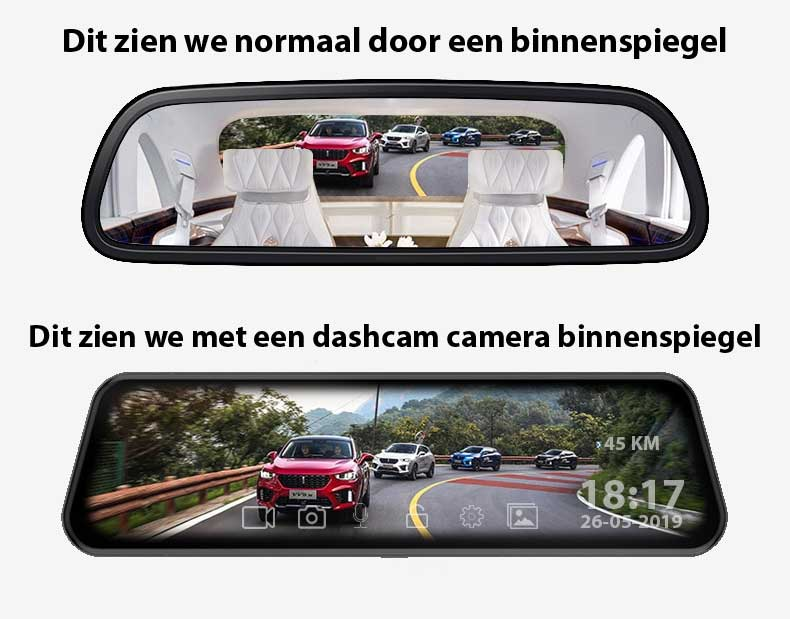 camera binnenspiegel dashcam