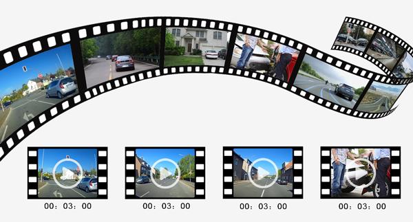 Dashcam loop recording