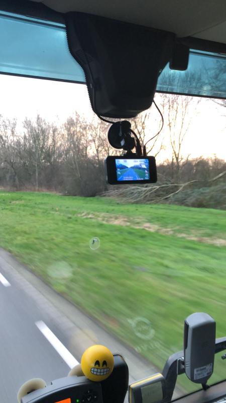 Vrachtwagen dashcam