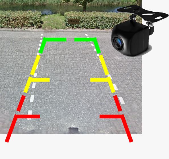 Dashcam SWY-cam-28-GPS parkeerhulp